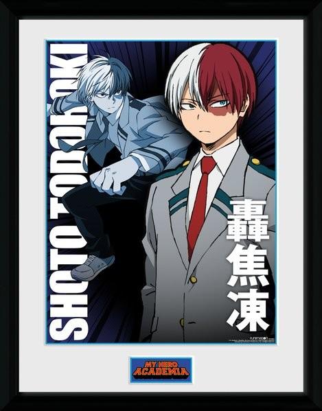 Framed poster My Hero Academia - Shoto Todorki