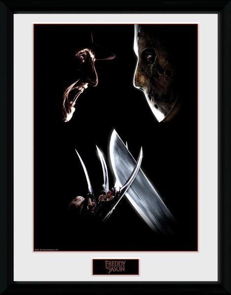 Nightmare On Elm Street - Face Off Framed poster