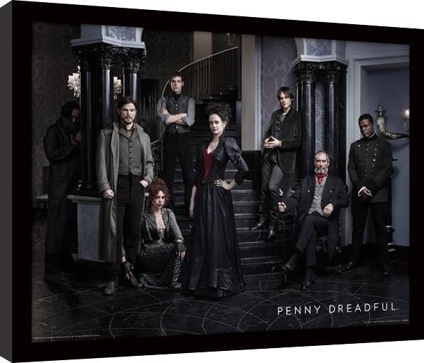 Penny Dreadful - Group Framed poster