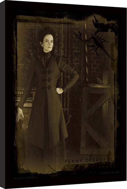 Penny Dreadful - Sepia Framed poster