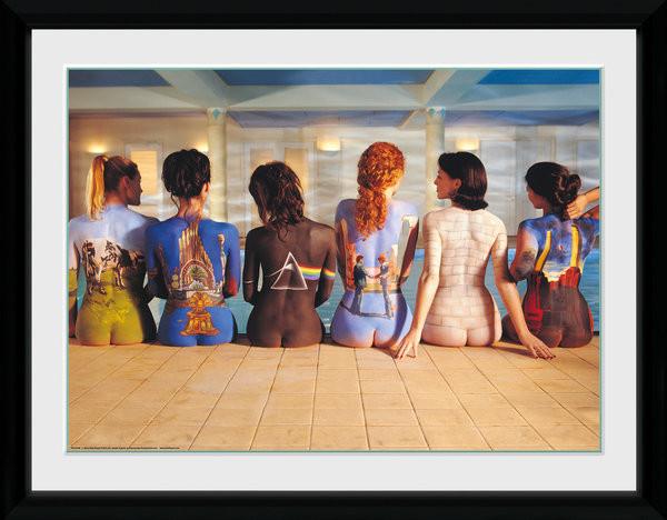 Framed poster Pink Floyd - Back Catalogue