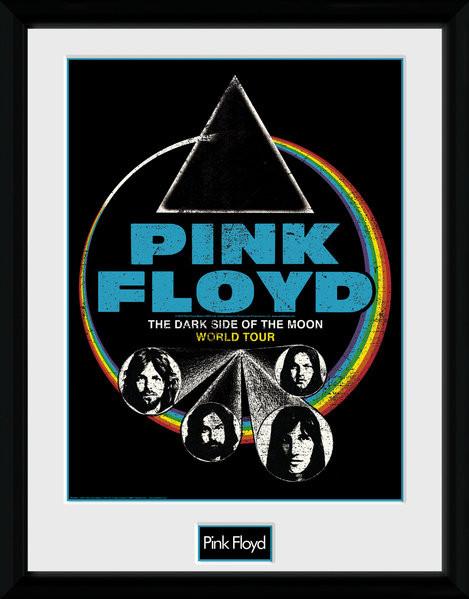 Pink Floyd - Dsom World Tour Framed poster