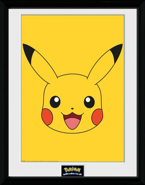 Framed poster Pokemon - Pikachu