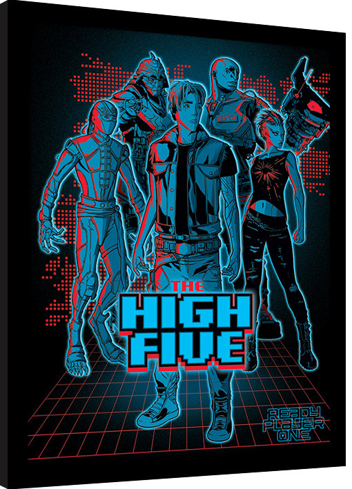 Ready Player One - The High Five Framed poster | Buy at Europosters