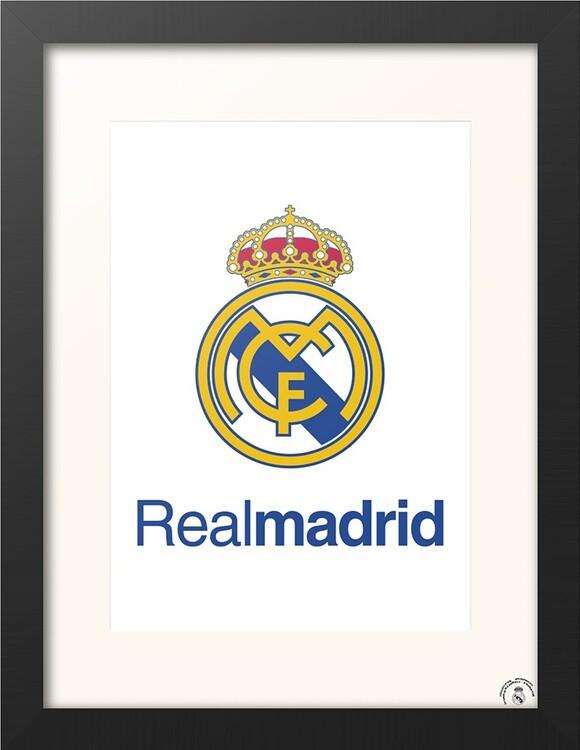 Framed poster Real Madrid