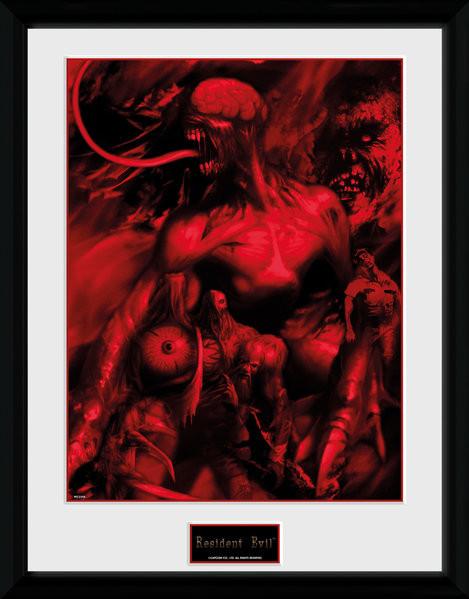 Resident Evil - Montage Framed poster