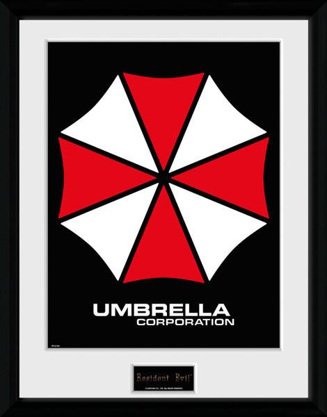 Framed poster Resident Evil - Umbrella