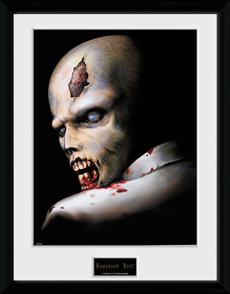 Resident Evil - Zombie Framed poster