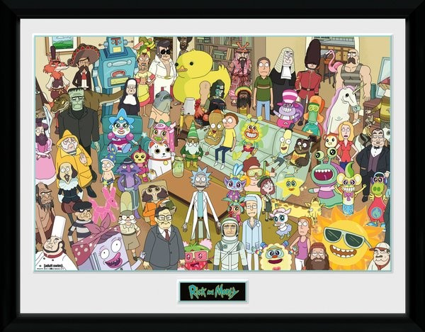 Rick and Morty - Total Rickall Framed poster