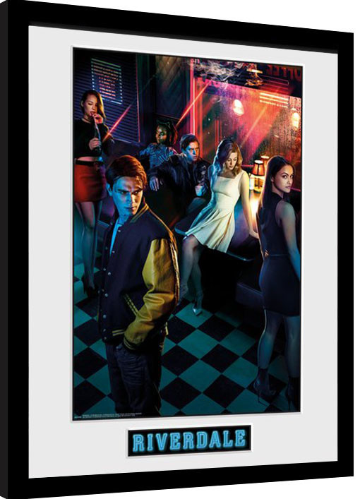Framed poster Riverdale - Season 1
