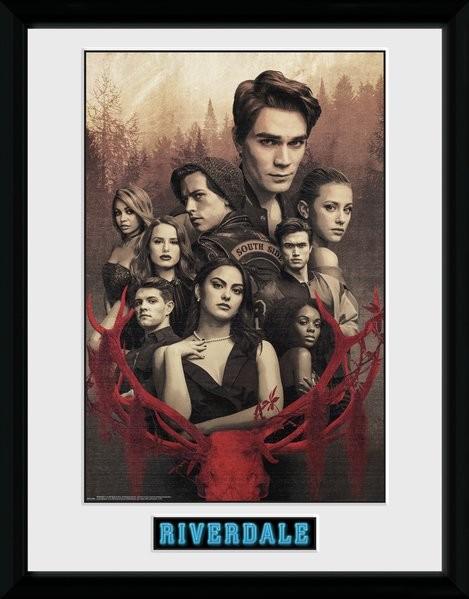 Framed poster Riverdale - Season 3