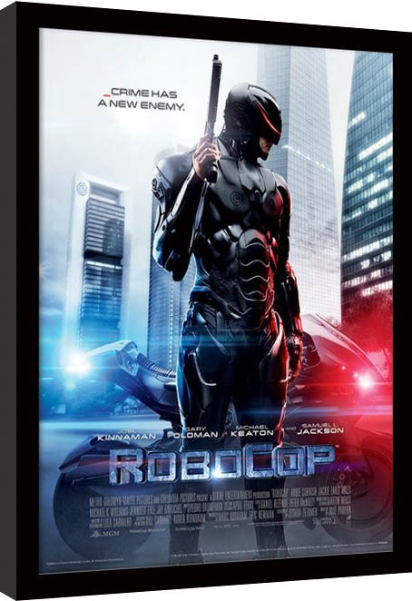 ROBOCOP - 2014 one sheet Framed poster
