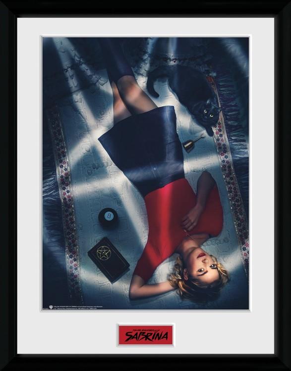 Framed poster Sabrina - Keyart