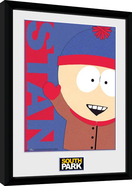 South Park - Stan Framed poster