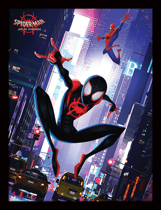 Spider-Man: Into The Spider-Verse - Swing Framed poster