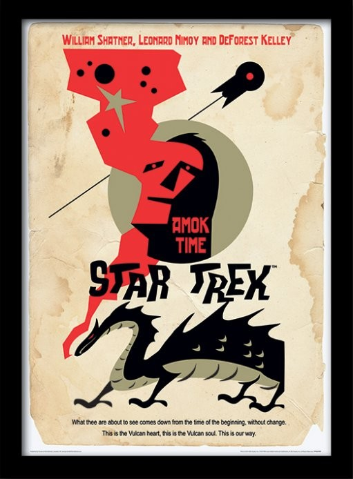 Star Trek - Amok Time Framed poster