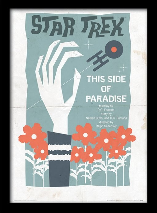 Star Trek - This Side Of Paradise plastic frame