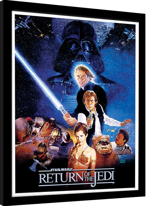 Framed poster Star Wars: Return Of The Jedi - One Sheet