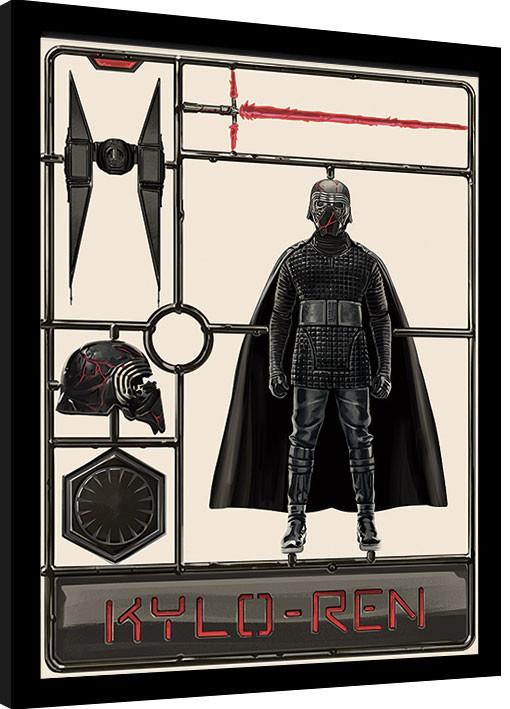 Star Wars: The Rise of Skywalker - Kylo Ren Model Framed poster