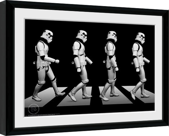Stormtrooper - Crossing Framed poster