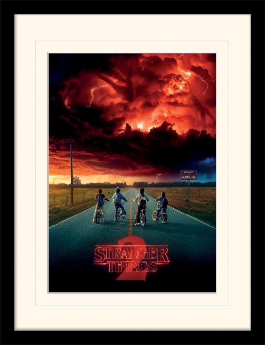 Framed poster Stranger Things - Mind Flayer