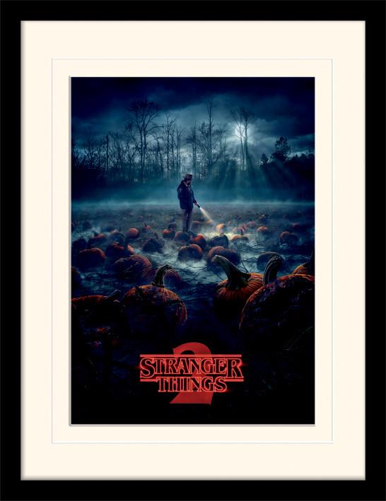 Framed poster Stranger Things - Pumpkin Patch