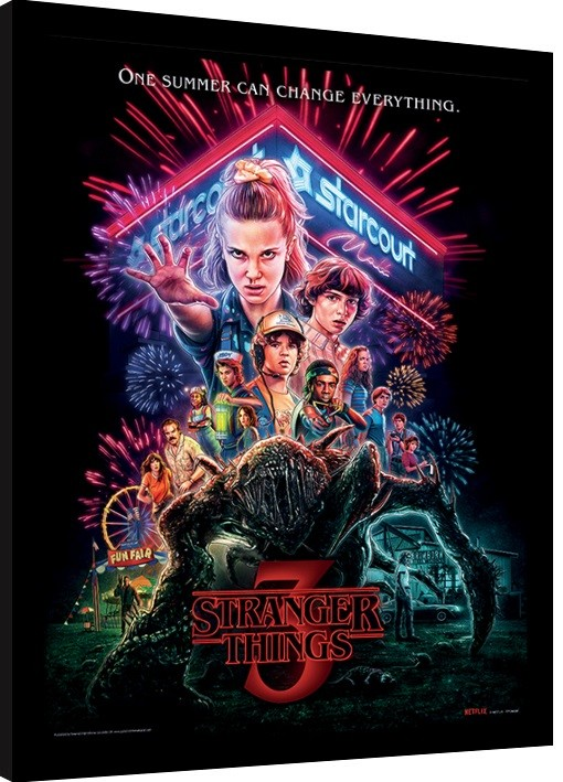 Stranger Things Summer Of 85 Framed Poster Buy At Europosters A collection of the top 52 stranger things wallpapers and backgrounds available for download for free. stranger things summer of 85 framed poster buy at europosters