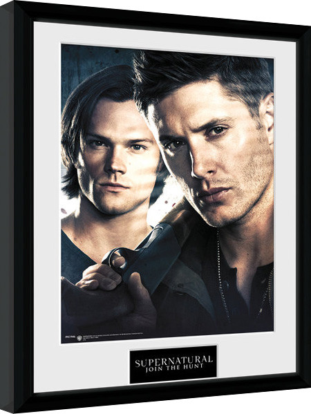 Supernatural - Brothers Framed poster