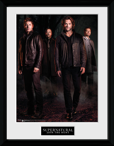 Framed poster Supernatural - Key Art