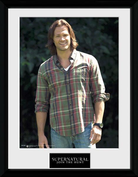Framed poster Supernatural - Sam