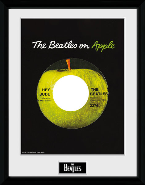 The Beatles - Apple Framed poster