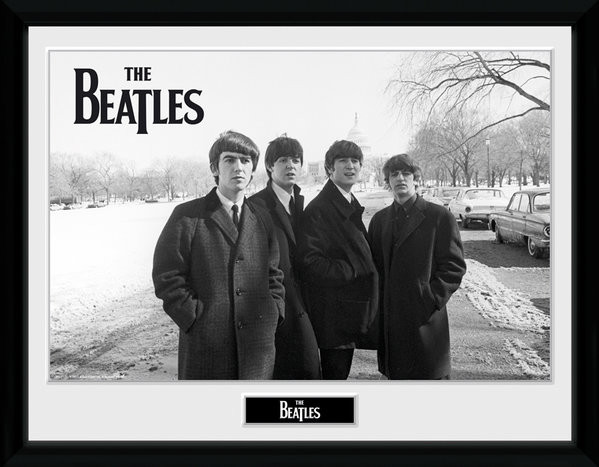 Framed poster The Beatles - Capitol Hill