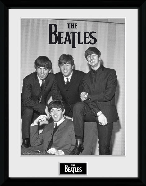 Framed poster The Beatles - Chair