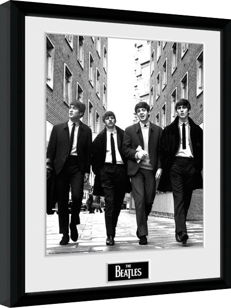 Framed poster The Beatles - In London Portrait