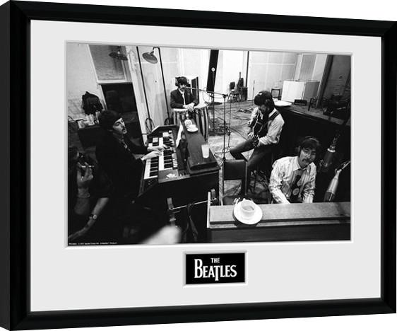Framed poster The Beatles - Studio