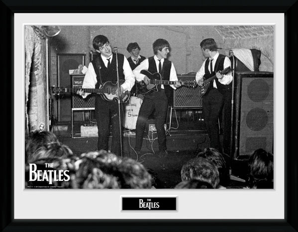 Framed poster The Beatles - The Cavern 3