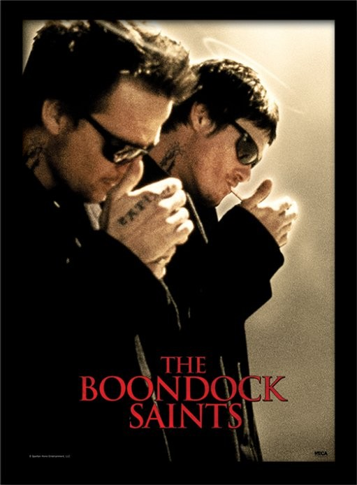 The Boondock Saints - Light Up Framed poster
