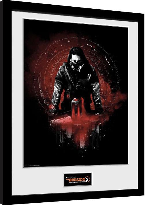 Framed poster The Division 2 - Keener