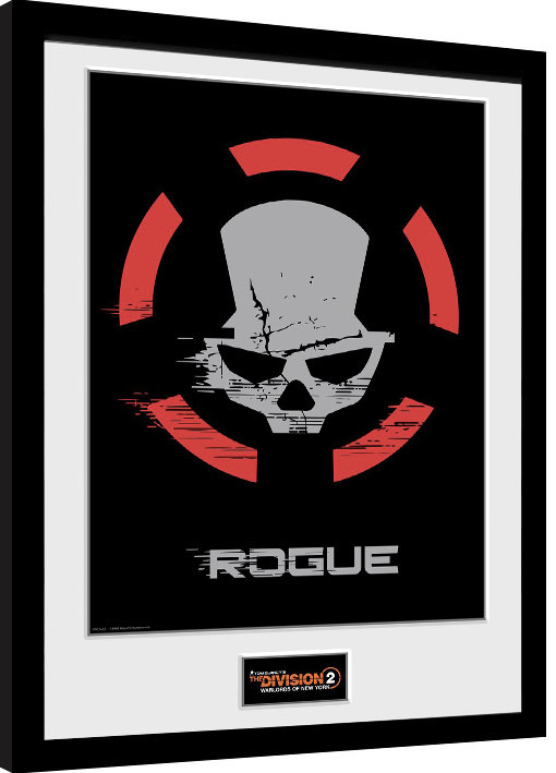 Framed poster The Division 2 - Rogue