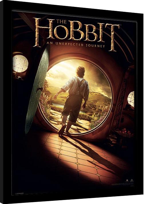 The Hobbit - One Sheet Framed poster