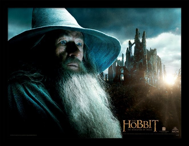THE HOBBIT: THE DESOLATION OF SMAUG - gandalf Framed poster