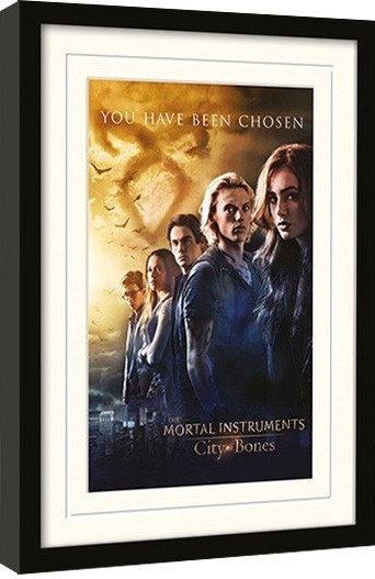 THE MORTAL INSTRUMENTS CITY OF BONES - chosen Framed poster