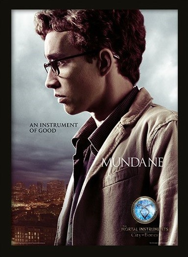 Framed poster THE MORTAL INSTRUMENTS CITY OF BONES –  simon