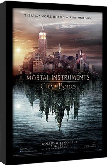 THE MORTAL INSTRUMENTS CITY OF BONES – teaser Framed poster