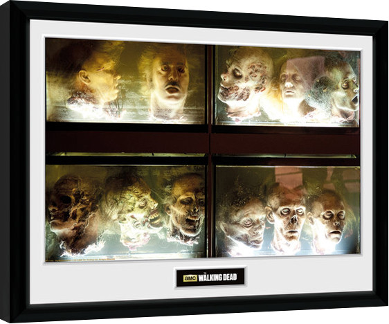 The Walking Dead In A Pickle Framed Poster Buy At Europosters