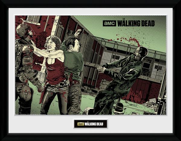 The Walking Dead - Maggie Glen Framed poster