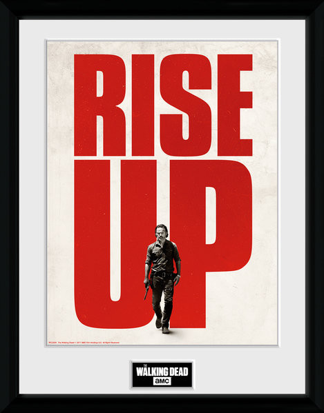 The Walking Dead - Rise Up Framed poster   Buy at Europosters