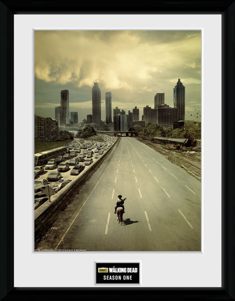 The Walking Dead - Season 1 Framed poster