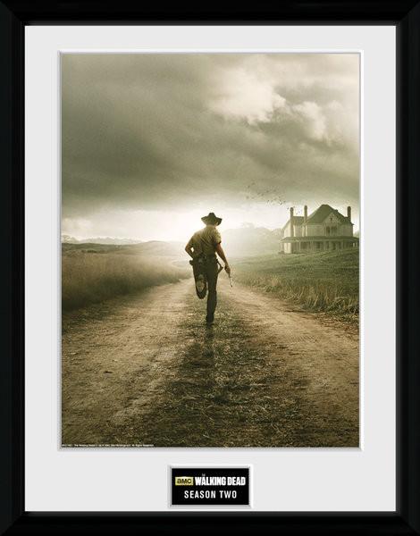 The Walking Dead - Season 2 Framed poster
