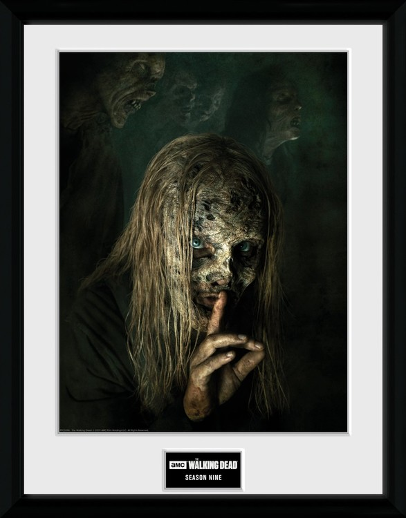 Framed poster The Walking Dead - Season 9